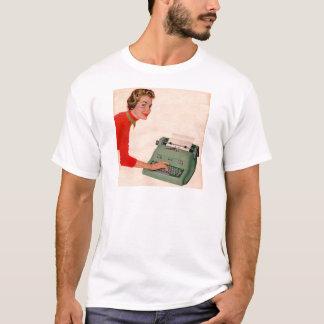 Mona and Her New Typewriter T-Shirt