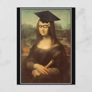 Mona Graduate Announcement Postcard