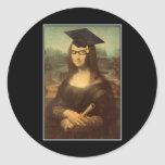 Mona Graduate Classic Round Sticker