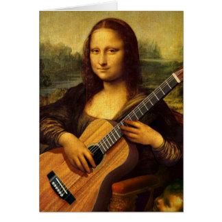 Mona Guitar Card