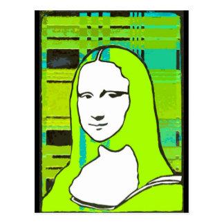 Mona Incognito Postcard