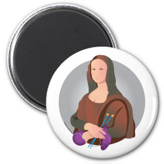 Mona Knits Magnet