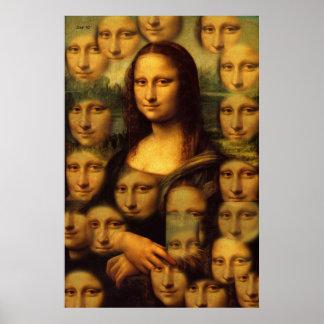 Mona Lisa #101 Poster
