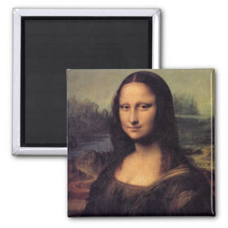 Mona Lisa 2 Inch Square Magnet
