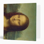 Mona Lisa 3 Ring Binder
