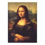 Mona Lisa 5x7 Paper Invitation Card