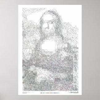 Mona Lisa 6,239 Poster