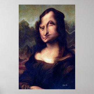Mona Lisa #83 Print