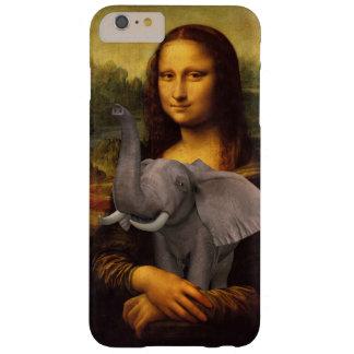 Mona Lisa abraza un elefante Funda De iPhone 6 Slim