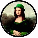 Mona Lisa afortunada Esculturas Fotográficas