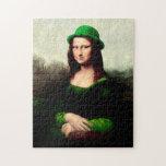 Mona Lisa afortunada Puzzle