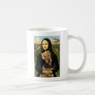 Mona Lisa - Airedale Terrier (#1) Coffee Mug