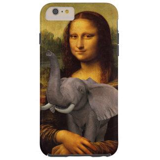 Mona Lisa ama elefantes Funda De iPhone 6 Shell