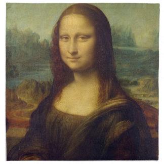 Mona Lisa American MoJo Napkin