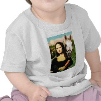 Mona Lisa and her Arabian Horse Shirt