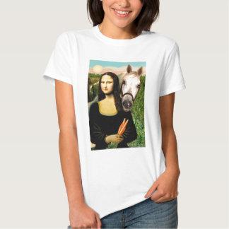 Mona Lisa and her Arabian Horse T Shirt