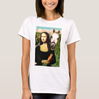 Mona Lisa and her Arabian Horse T-Shirt