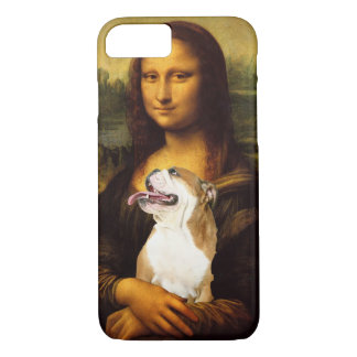 Mona Lisa and Her Bull Dog iPhone 7 case