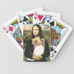 Mona Lisa and her Papillon (red) Card Decks