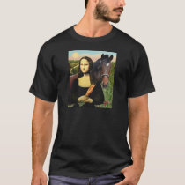 Mona Lisa and her Quarter Horse T-Shirt