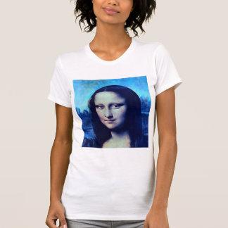 Mona Lisa azul Camiseta