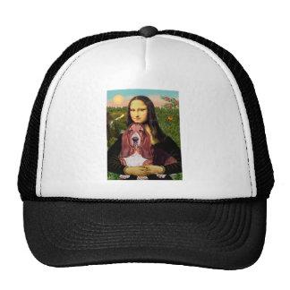 Mona Lisa - Basset Hound #1 Gorro