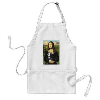 Mona Lisa - Boston T #4 Adult Apron