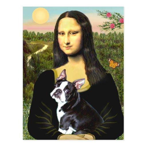 Mona Lisa - Boston T #4 Tarjetas Postales