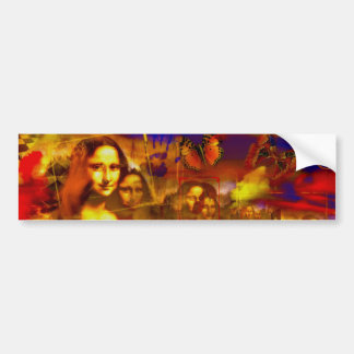Mona Lisa Bumper Stickers