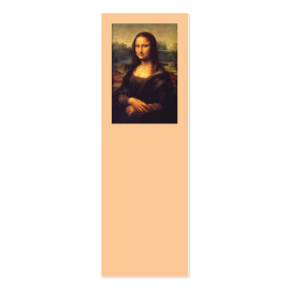 Mona Lisa Double-Sided Mini Business Cards (Pack Of 20)