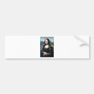 Mona Lisa by Leonardo Da Vinci Bumper Sticker