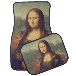 Mona Lisa by Leonardo da Vinci Car Mat