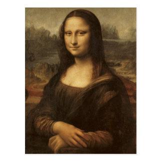 Mona Lisa by Leonardo da Vinci circa 1505-1513 Postcard