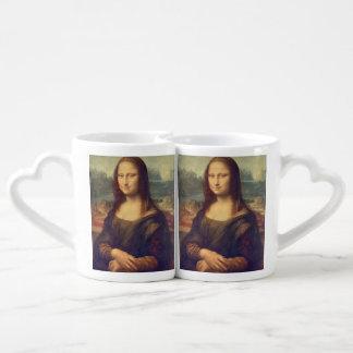 Mona Lisa by Leonardo da Vinci Coffee Mug Set