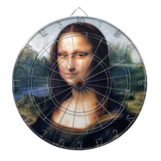 Mona Lisa by Leonardo da Vinci Dart Board