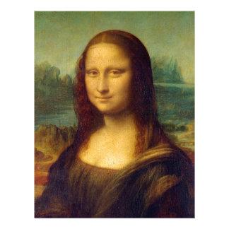 Mona Lisa by Leonardo da Vinci Letterhead