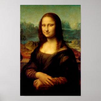 Mona Lisa - by Leonardo da Vinci Poster