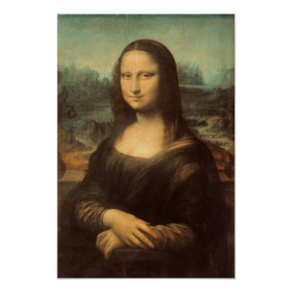 Mona Lisa by Leonardo da Vinci Print