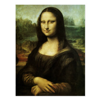 Mona Lisa by Leonardo da Vinci, Renaissance Art Postcard