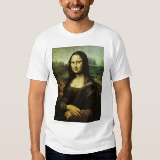 Mona Lisa by Leonardo da Vinci, Renaissance Art Shirts