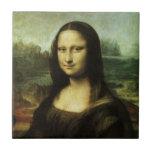 Mona Lisa by Leonardo da Vinci, Renaissance Art Tile