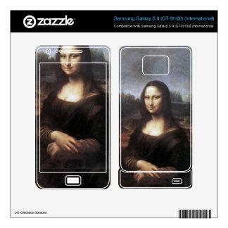 Mona Lisa By Leonardo Da Vinci Skin Samsung Galaxy S II Skin