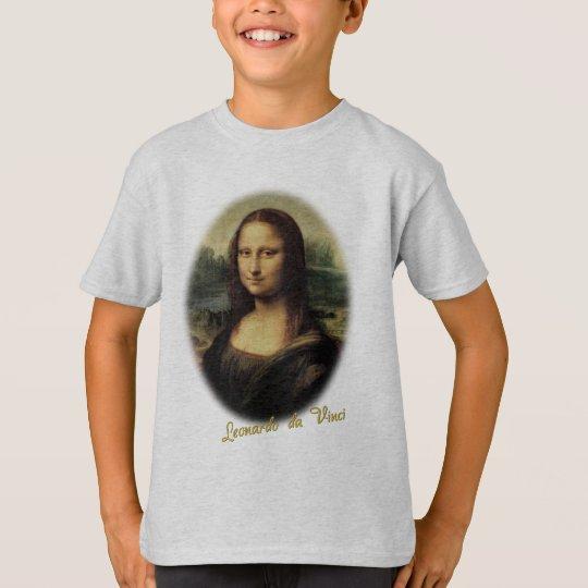 Mona Lisa by Leonardo da Vinci T-Shirt