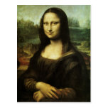 Mona Lisa by Leonardo da Vinci Vintage Renaissance Post Cards