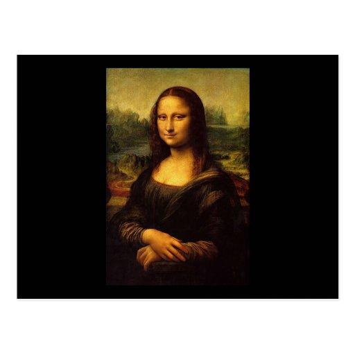 Mona Lisa by Leonardo DE Vinici Post Cards