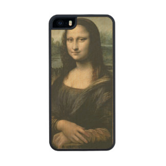 Mona Lisa, c.1503-6 2 Wood Phone Case For iPhone SE/5/5s