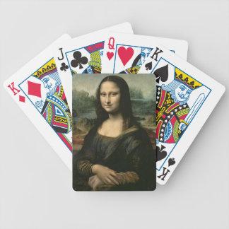 Mona Lisa, c.1503-6 (aceite en el panel) Barajas De Cartas