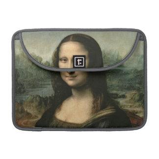 Mona Lisa, c.1503-6 (aceite en el panel) Fundas Para Macbooks