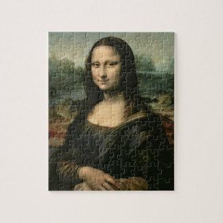Mona Lisa, c.1503-6 (aceite en el panel) Puzzle