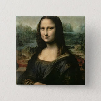 Mona Lisa, c.1503-6 Button